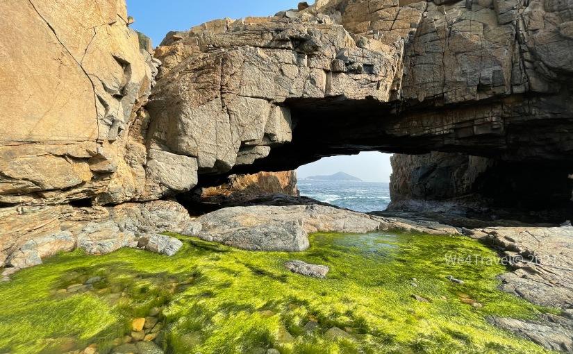 鶴嘴海岸保護區 |鶴嘴燈塔、雷音洞、鯨魚骨、蟹洞打卡位|欣賞海蝕岩|