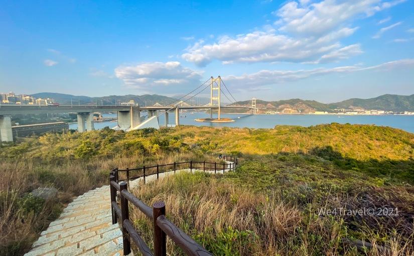 馬灣隱世小沙灘|超美觀景台飽覽青馬大橋靚景|野餐、觀賞日落好去處